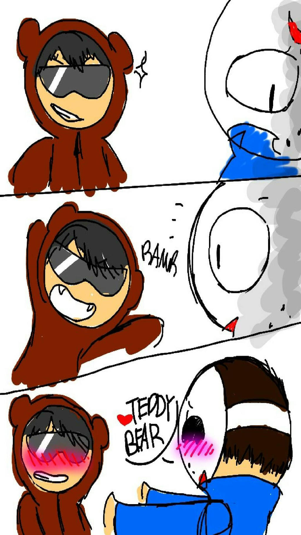 Teddy Bear!! ^-^ (H2OVanoss) by RynZeIstina on DeviantArt H20 Delirious Drawings