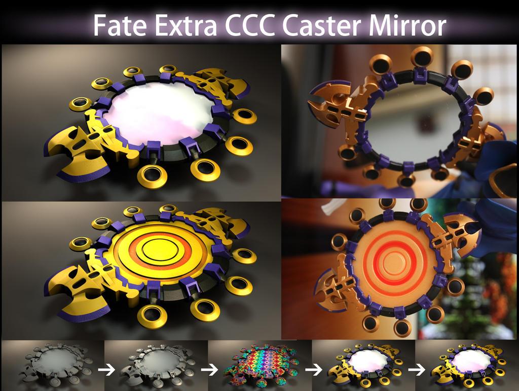 Fate Extra CCC Caster Mirror V1 by MakotoKacun
