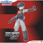 Team Rocket Grunt Male - Pokemon Acanthite