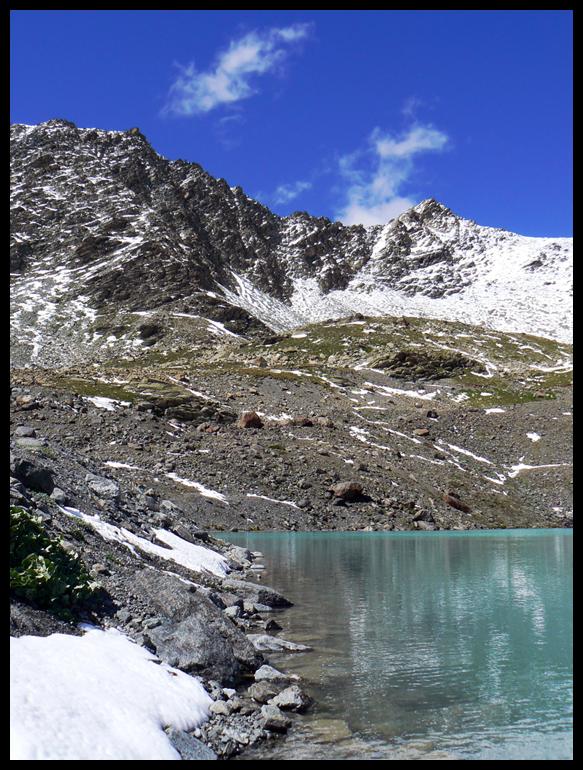 Le Lac Blanc, Val Thorens by koskoz