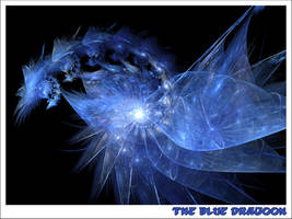 The Blue Dragoon by koskoz
