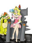 Princess peach-stock contest by tedres