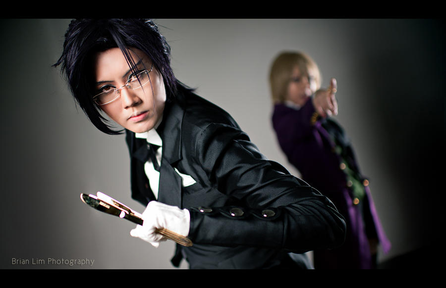 Kuroshitsuji - Claude : Protect Alois! by presencez