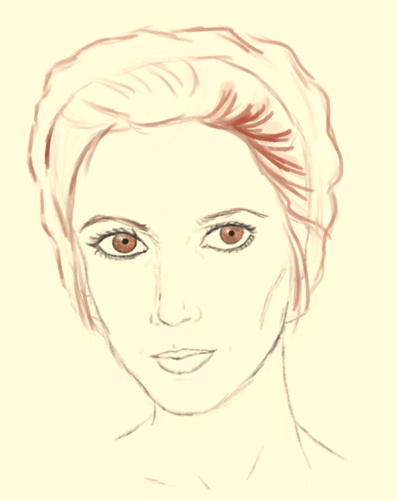 Princess Leia by LeaTrekina