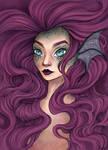Mermaid Portrait [Coloured]