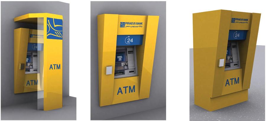 Piraeus Bank Atm2 By Azstrike On Deviantart