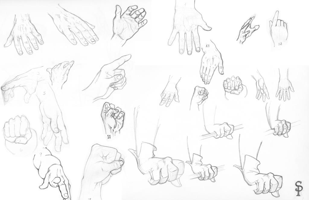 007 Sketch Dump-Hand and Arms by SparksflyStudios on DeviantArt
