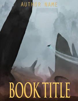Mock Sci-Fi Book Cover