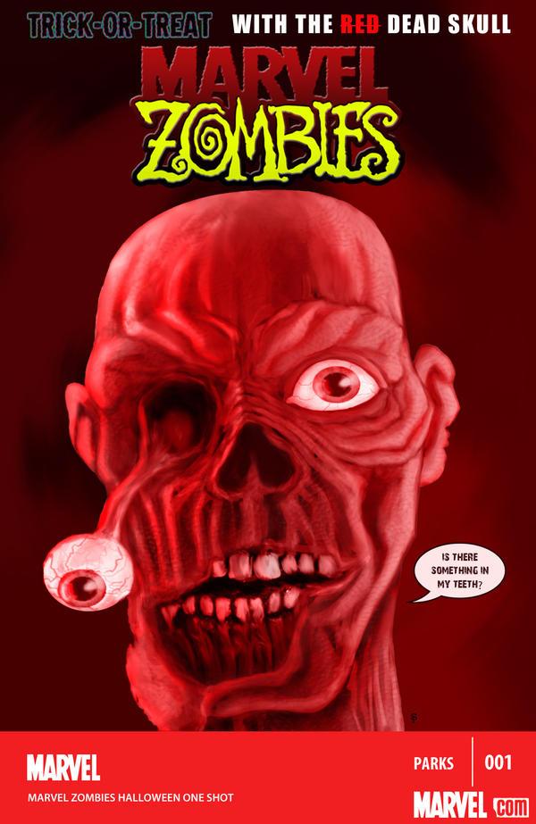 Marvel Zombies-The Dead Skull by SparksflyStudios