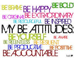 My Be Attitudes