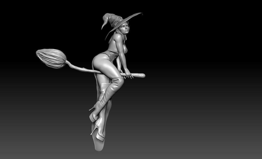 WIP Witch by Sean-Dabbs-fx