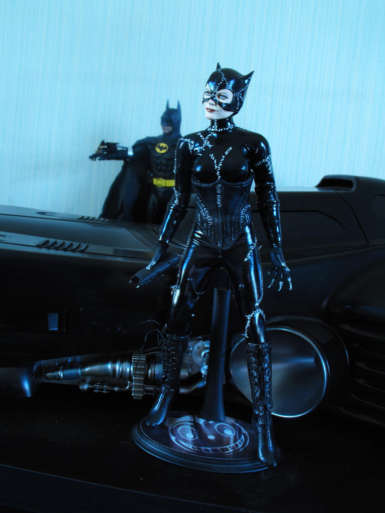 1/6 scale custom catwoman action figure by Sean-Dabbs-fx