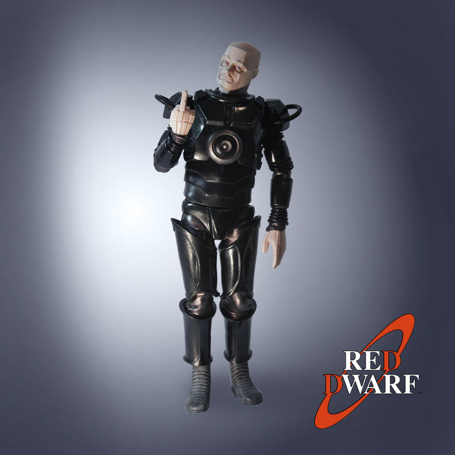 Kryten action figure by Sean-Dabbs-fx