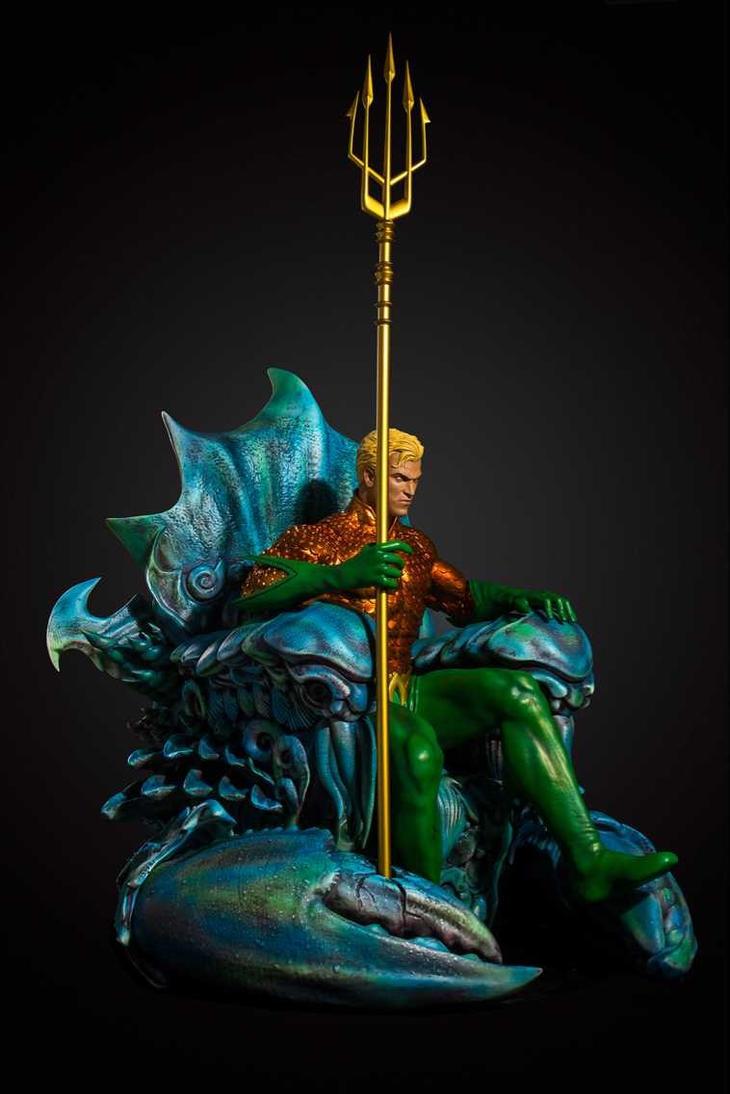 Aquaman 1/3 scale by Sean-Dabbs-fx