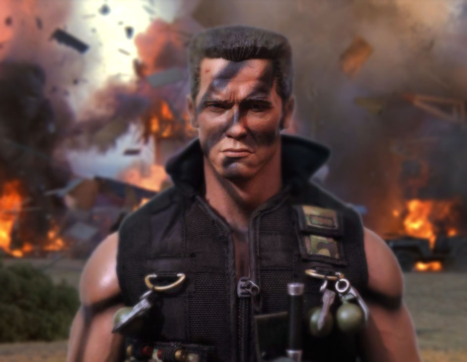 Commando 1/6 scale figure by Sean-Dabbs-fx