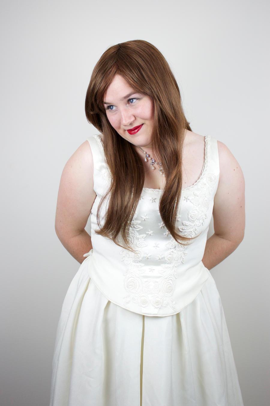 White Portrait 4 by kirilee