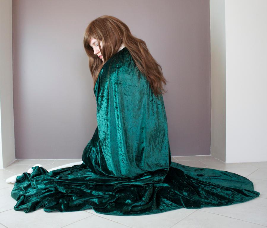 Green Cloak 19 by kirilee