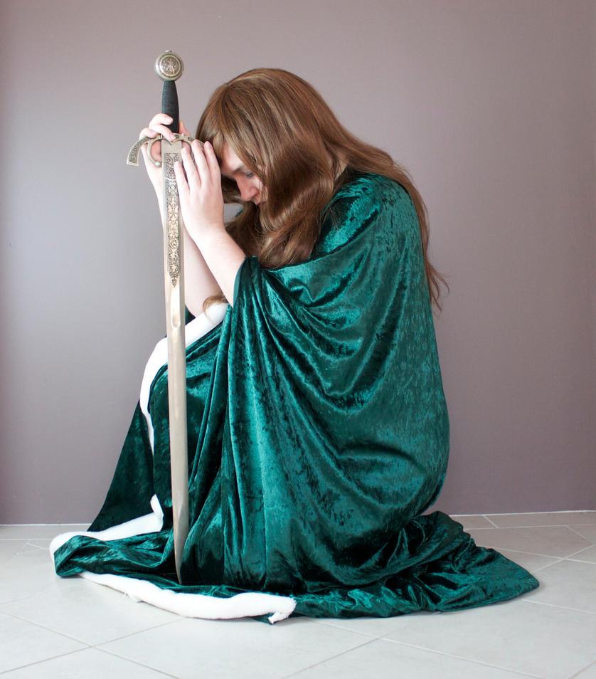Green Cloak 27 by kirilee