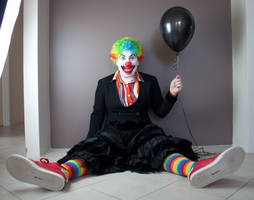 Evil Clown 11 by kirilee