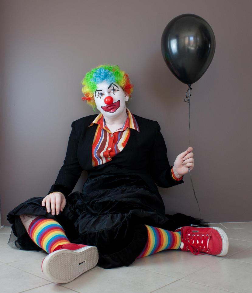 Evil Clown 16 by kirilee