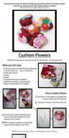 Cushion Flower Tutorial