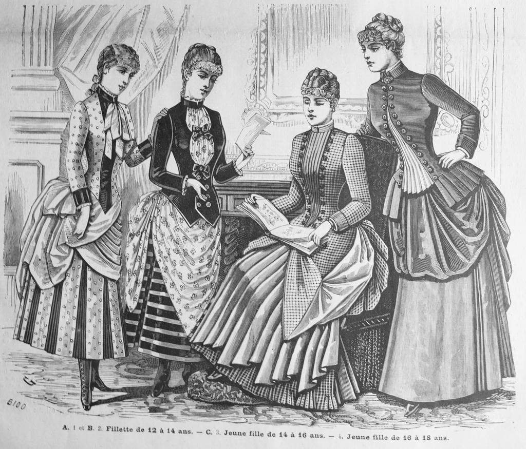 Salon de la Mode 11th April 1885 Cover image by kirilee on ...