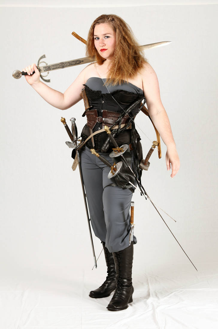 Weapons Wench 1 by kirilee