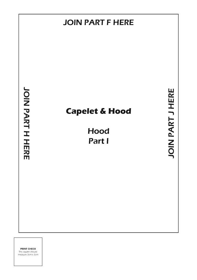 Capelet and Hood Pattern - Hood 5 by kirilee