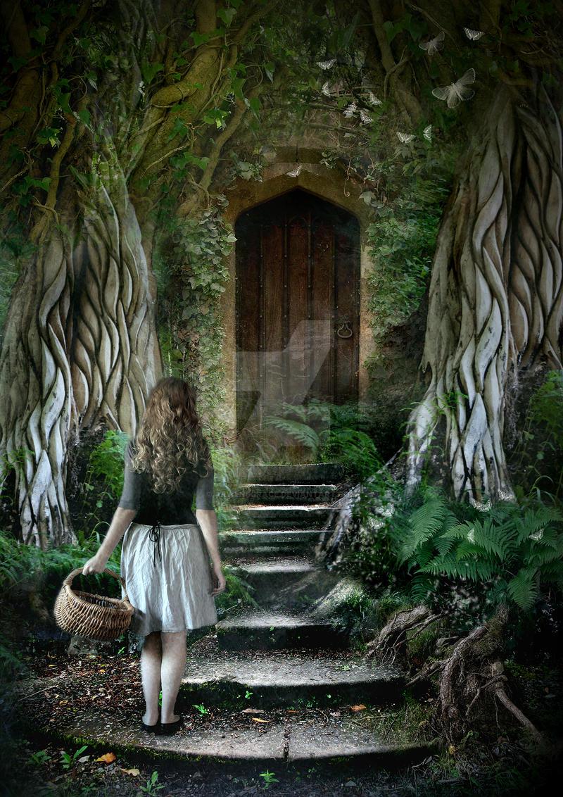 The secret door by arwensgrace on deviantart for The magic fairy door