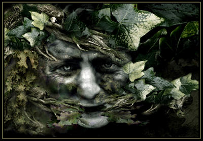 The Green Man by ArwensGrace