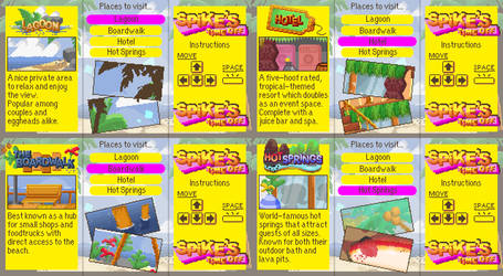 Spike's Time Off Backgrounds: Brochure