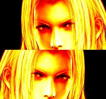 Sephiroth's firelight by Sencilia-Harp