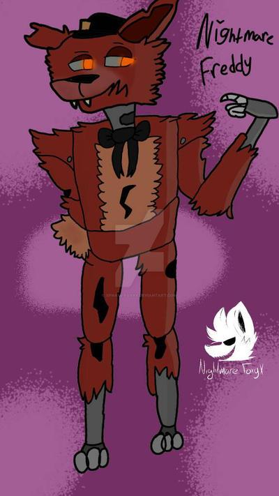 Nightmare Freddy(Fnaf4 MartiPL) by XFnaf4-FoxyX