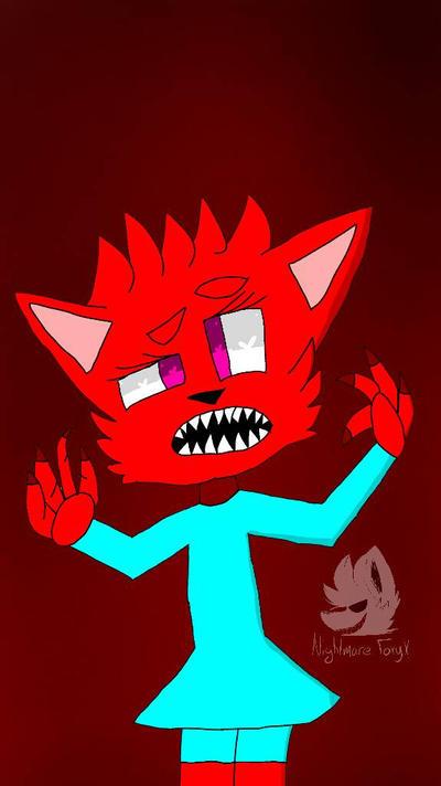 .:I'm an Animal:. by XFnaf4-FoxyX
