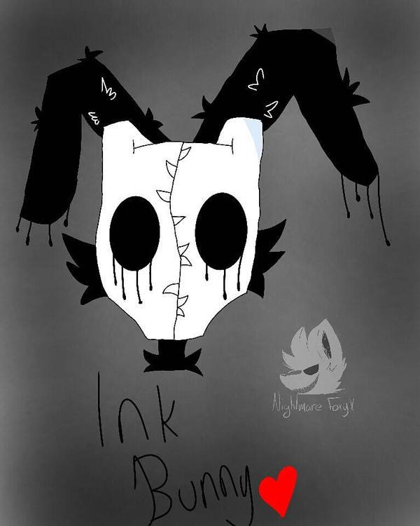 .:Ink Bunny:. (gift) by XFnaf4-FoxyX