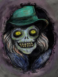 Hatbox Ghost (portrait) by collectingbees