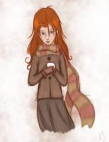 Ginny Weasley by chocolatshell