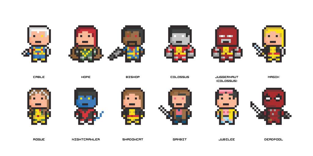 8 Bit Marvel X Men 2 by CreativeCC on DeviantArt