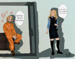 Cersei and Jaime Cop AU by pristineungift