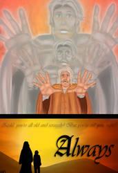Zedd and Darken: Always (A Fanfic Illustration) by pristineungift