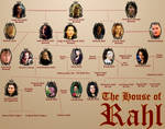 Rahl Family Tree (Confessor Diaries) by pristineungift