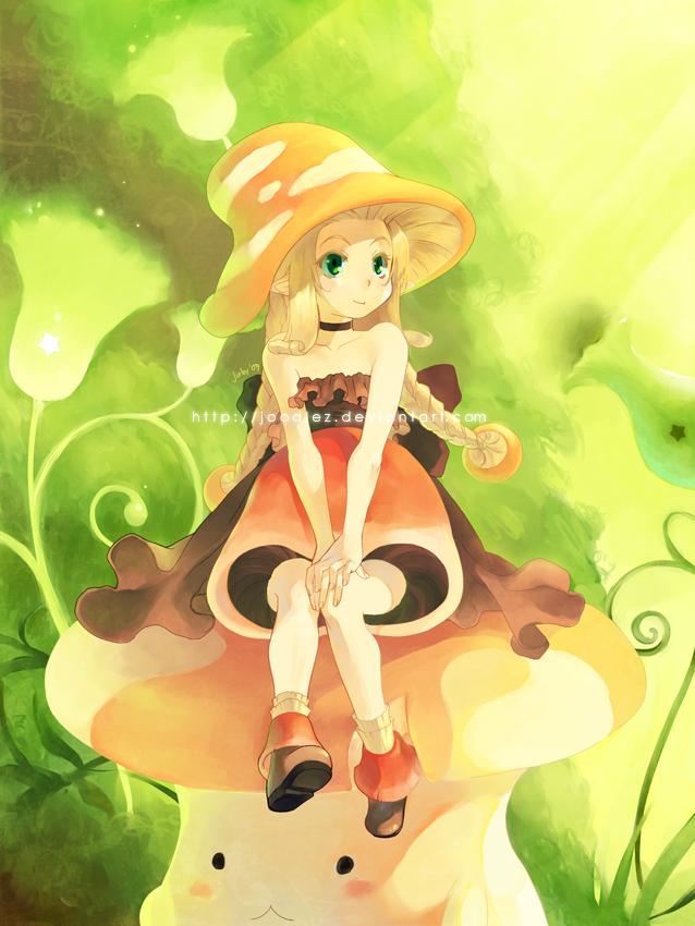 Mushroom by joodlez