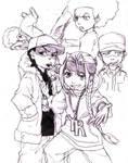 Boondocks sketches 3