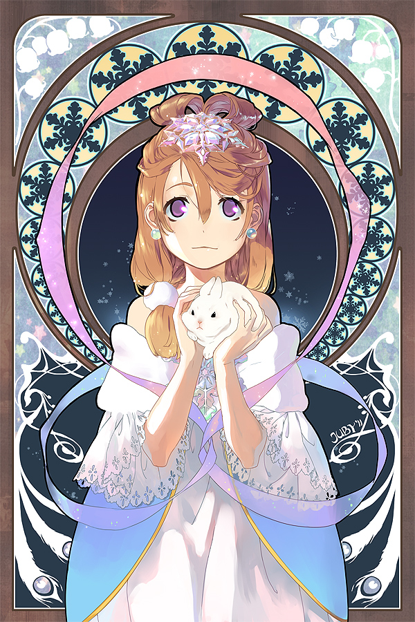 Snow Rabbit by joodlez