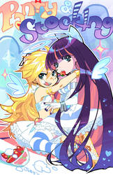 PANTY AND STOCKING by joodlez