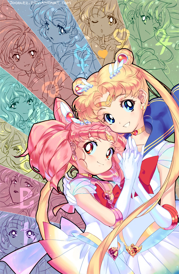 Sailor Moon by joodlez