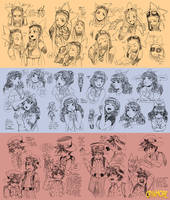 Expression sketches for Cryamore