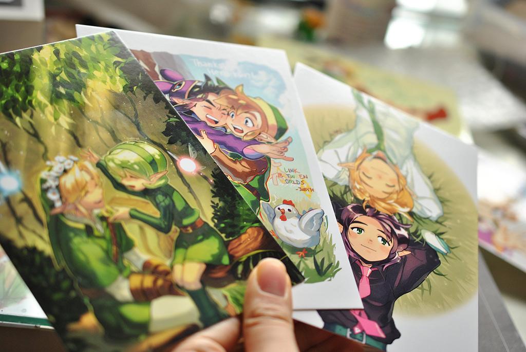 Zelda Postcards by joodlez
