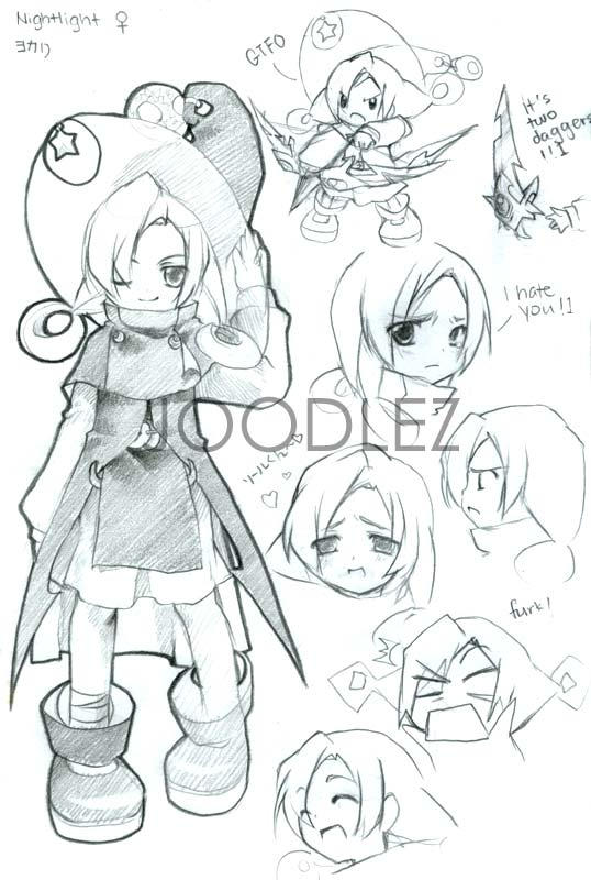 Character Sheet V by joodlez