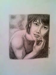 Miyano Mamoru. Smile with your eyes... by ZazzyAK